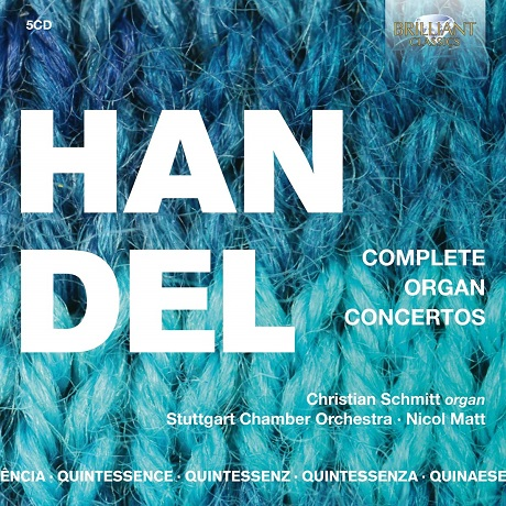 헨델: 오르간 협주곡 전곡 (5CD)