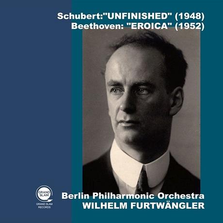 "SYMPHONY NO.8 ""UNFINISHED"" & SYMPHONY NO.3 ""EROICA""/ WILHELM FURTWANGLER [슈베르트: 교향곡 8번(미완성), 베토벤: 교향곡 3번(영웅) - 푸르트뱅글러]"