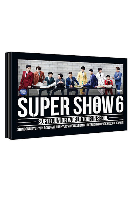 SUPER SHOW 6: WORLD TOUR IN SEOUL [2DVD+포토북]