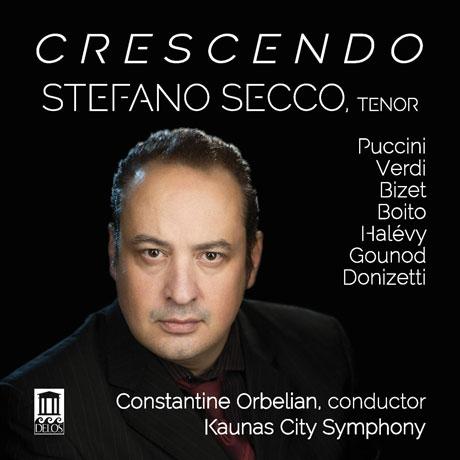 CRESCENDO/ STEFANO SECCO, CONSTANTINE ORBELIAN [스테파노 세코: 오페라 아리아 <크레센도>]
