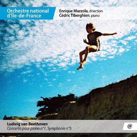 PIANO CONCERTO NO.1 & SYMPHONY NO.5/ CEDRIC TIBERGHIEN, CEDRIC TIBERGHIEN [베토벤: 피아노 협주곡 1번, 교향곡 5번 - 티베르기엥]