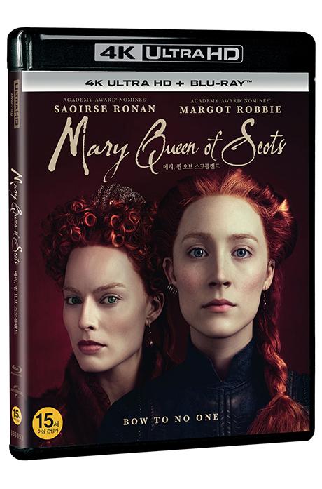 메리 퀸 오브 스코틀랜드 4K UHD+BD [MARY QUEEN OF SCOTS] [19년 11월 블랙프라이데이 가격인하]