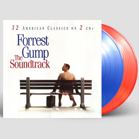 FORREST GUMP [포레스트 검프] [TRANSPARENT RED & BLUE] [180G LP]