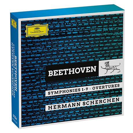 SYMPHONIES 1-9 & OVERTURES/ HERMANN SCHERCHEN [베토벤: 교향곡 전곡과 서곡 - 헤르만 셰르헨]