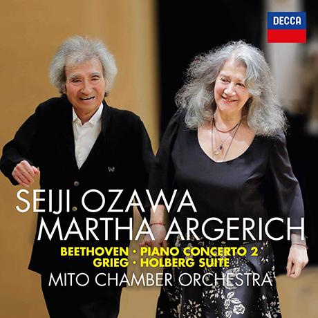 PIANO CONCERTO NO.2 & HOLBERG SUITE/ MARTHA ARGERICH, SEIJI OZAWA [베토벤: 피아노 협주곡 2번 & 그리그: 홀베르그 모음곡 - 아르헤리치, 오자와]
