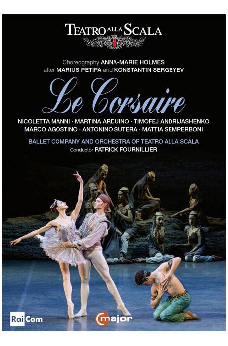 LE CORSAIRE/ PATRICK FOURNILLIER, ANNA-MARIE HOLMES [아당: 해적 - 라 스칼라 발레]