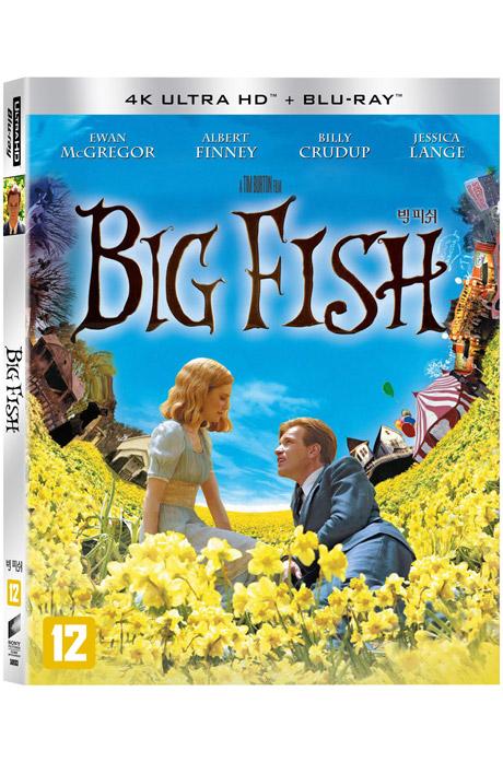 빅 피쉬 4K UHD+BD [슬립케이스 한정판] [BIG FISH]