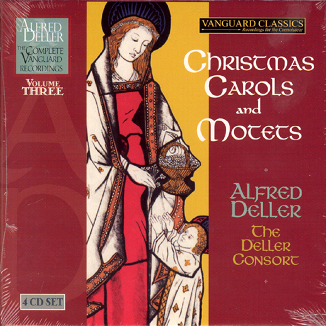 CHRISTMAS CAROLS AND MOTETS/ THE DELLER CONSORT