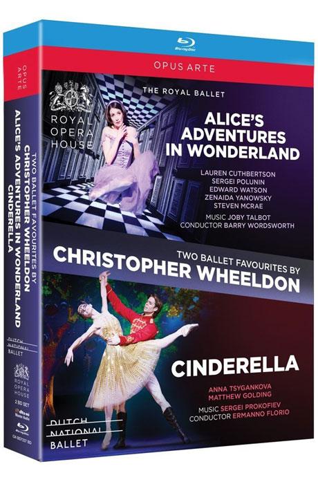 ALICE`S ADVENTURES IN WONDERLAND & CINDERELLA/ CHRISTOPHER WHEELDON [크리스토퍼 월던: 두 편의 발레 컬렉션]