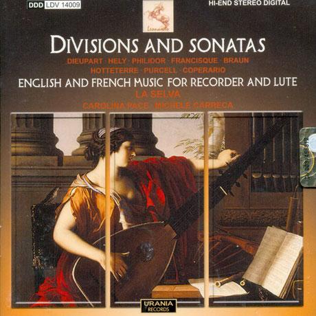 DIVISIONS & SONATAS/ CAROLINA PACE, MICHELE CARRECA