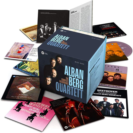 THE COMPLETE RECORDINGS [62CD+8DVD] [알반 베르크 사중주단 전집]