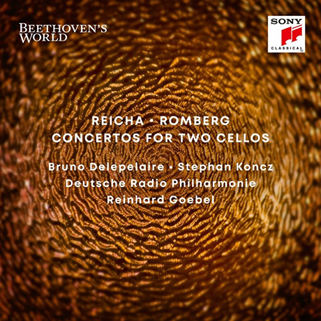 CONCERTOS FOR TWO CELLOS/ BRUNO DELEPELAIRE, STEPHAN KONCZ, REINHARD GOEBEL [BEETHOVEN`S WORLD 2] [라이하 & 롬베르크: 두대의 첼로를 위한 협주곡 - 들르프레르, 콘츠, 라인하르트 괴벨]