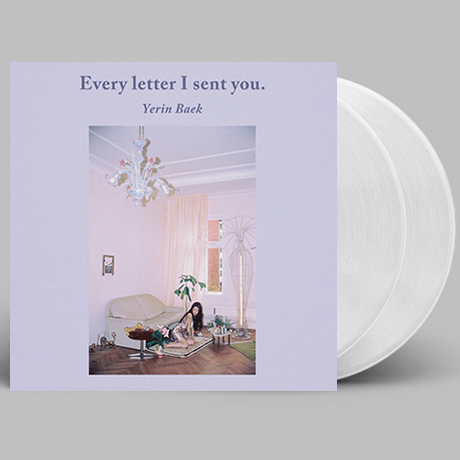 EVERY LETTER I SENT YOU. [180G 클리어 LP] [일반반]