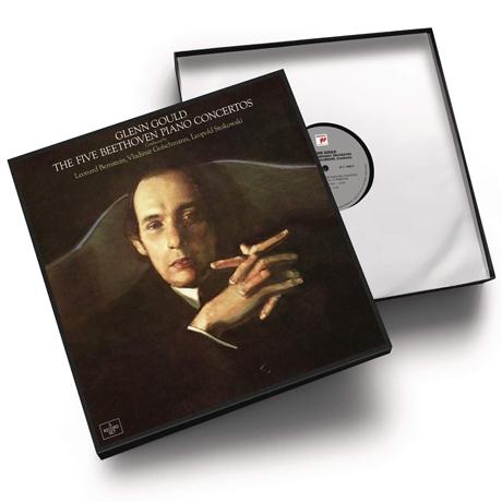 THE FIVE BEETHOVEN PIANO CONCERTOS [베토벤: 피아노 협주곡 전곡집 - 글렌 굴드] [한정반] [180G LP]