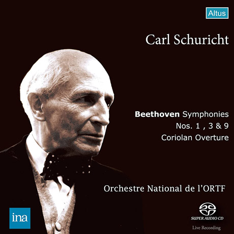 베토벤: 교향곡 1번, 3번, 9번, 코리올란 서곡
