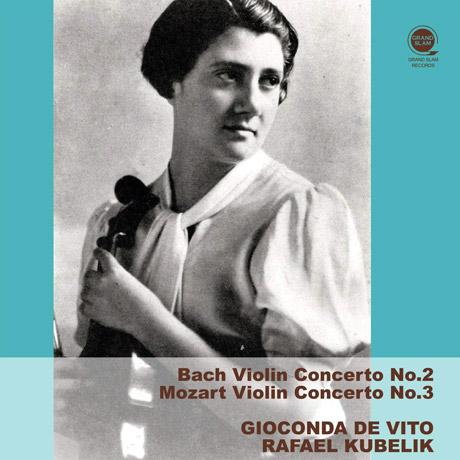 J.S. 바흐: 바이올린 협주곡 2번, 모차르트: 바이올린 협주곡 3번