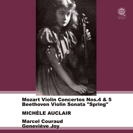 모차르트: 바이올린 협주곡 4 & 5번, 베토벤: 바이올린 소나타 '봄' (보너스 트랙)