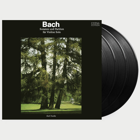 SONATAS AND PARTITAS FOR SOLO VIOLIN/ KARL SUSKE [바흐: 무반주 바이올린을 위한 소나타와 파르티타 전곡집 - 카를 주스케] [180G LP] [한정반]