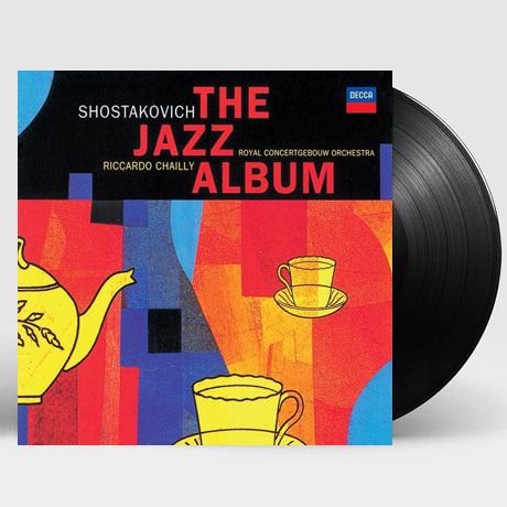THE JAZZ ALBUM/ RICCARDO CHAILLY [180G LP] [쇼스타코비치: 재즈 앨범]