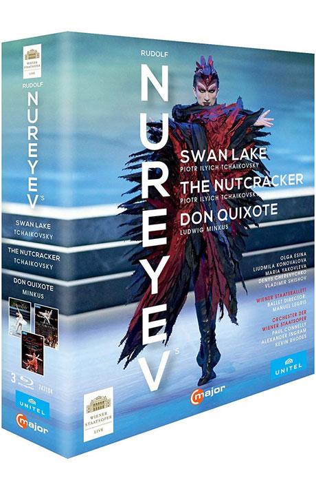 NUREYEV: SWAN LAKE, NUTCRACKER, DON QUIXOTE [누레예프 안무: 백조의 호수, 호두까기 인형, 돈키호테]