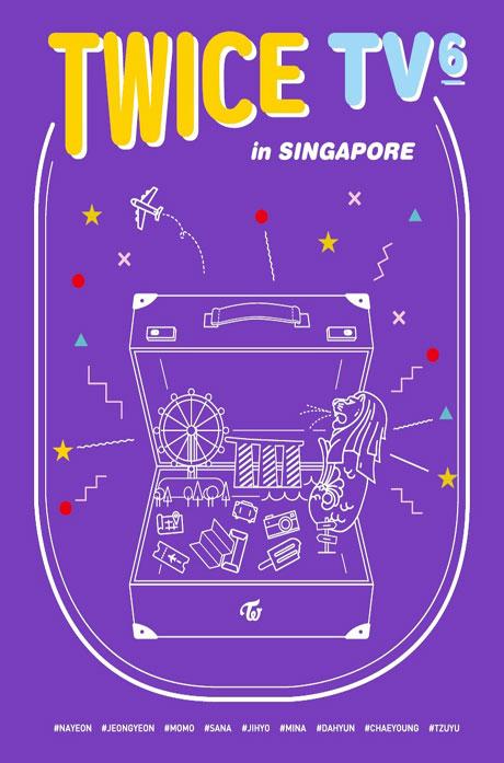TWICE TV 6 IN SINGAPORE [3DVD+포토북]