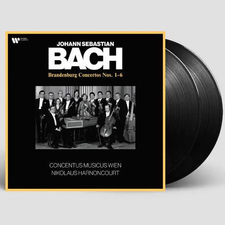 THE BRANDENBURG CONCERTOS NOS.1-6/ NIKOLAUS HARNONCOURT [바흐: 브란덴부르크 협주곡 - 빈 콘첸투스 무지쿠스, 아르농쿠르] [180G LP]