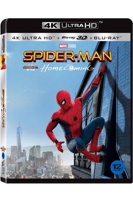 스파이더맨: 홈커밍 3D [4K UHD+BD] [SPIDER-MAN: HOMECOMING]