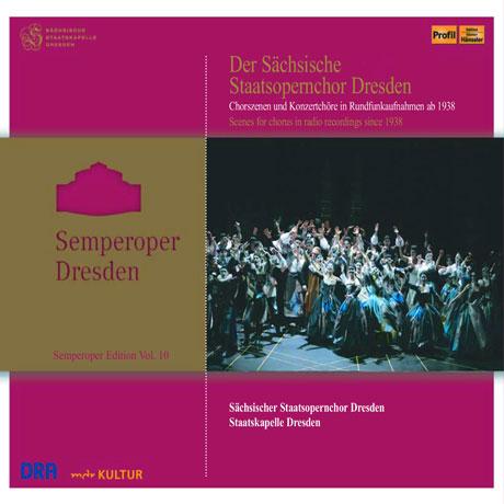 SEMPEROPER DRESDEN [여러 오페라의 합창곡과 합창작품 모음 1938-2015년]