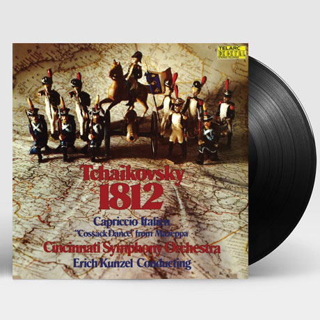 1812 OVERTURE & CAPRICCIO ITALIEN/ ERICH KUNZEL [차이코프스키: 1812년 서곡] [180G LP]
