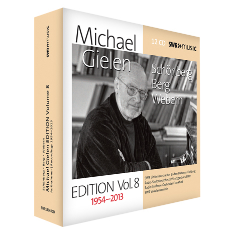 RECORDINGS 1954-2013/ MICHAEL GIELEN [길렌 에디션 8집: 쇤베르크, 베베른, 베르크]