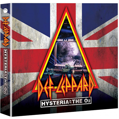 HYSTERIA AT THE O2 [2CD+DVD]