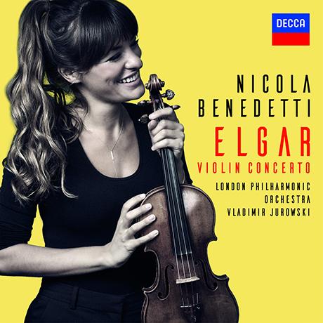 VIOLIN CONCERTO/ NICOLA BENEDETTI, VLADIMIR JUROWSKI [엘가: 바이올린 협주곡 - 니콜라 베네데티, 유로프스키]