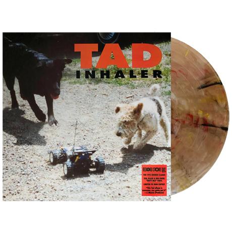 INHALER [RSD EXCLUSIVE] [TAN/BLACK & RED MUTT MIX SWIRL] [LP]