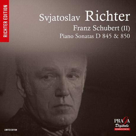 PIANO SONATAS/ SVIATOSLAV RICHTER [SACD HYBRID] [슈베르트: 피아노 소나타]