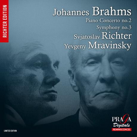 PIANO CONCERTO & SYMPHONY NO.3/ SVIATOSLAV RICHTER, YEVGENY MRAVINSKY [SACD HYBRID] [브람스: 피아노 협주곡 2번, 교향곡 3번] [리히테르 에디션]