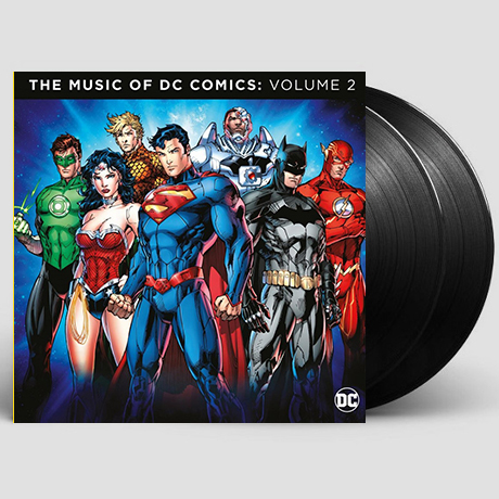 THE MUSIC OF THE DC COMICS VOLUME 2 [180G LP] [DC 코믹스 컴필레이션 2집]