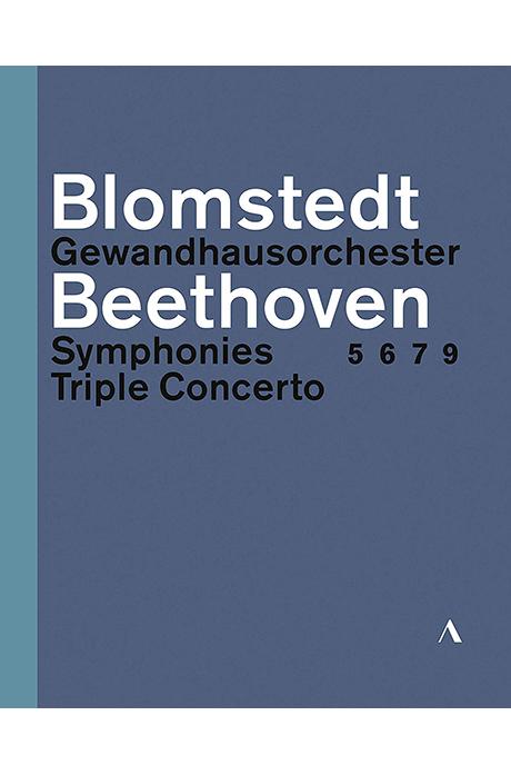 SYMPHONIES 5, 6, 7, 9 & TRIPLE CONCERTO/ HERBERT BLOMSTEDT [베토벤: 교향곡, 삼중 협주곡 - 헤르베르트 블롬슈테트]