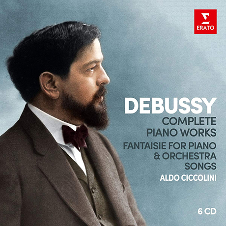 COMPLETE PIANO WORKS, FANTAISIE FOR PIANO & ORCHESTRA, SONGS/ ALDO CICCOLINI [드뷔시: 피아노 작품 전집 - 알도 치콜리니]