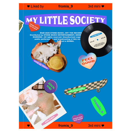 My Little Society [미니 3집] [My society ver]