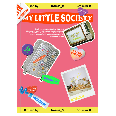 MY LITTLE SOCIETY [미니 3집] [MY ACCOUNT VER]