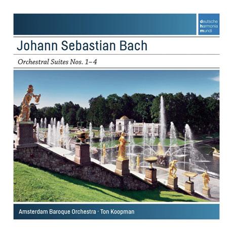 ORCHESTRAL SUITES NOS.1-4/ TON KOOPMAN [SONY MASTERS] [바흐: 관현악 모음곡 NOS.1-4 - 톤 쿠프만]