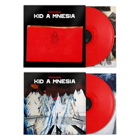 KID A MNESIA [인디스토어 에디션] [RED LP]