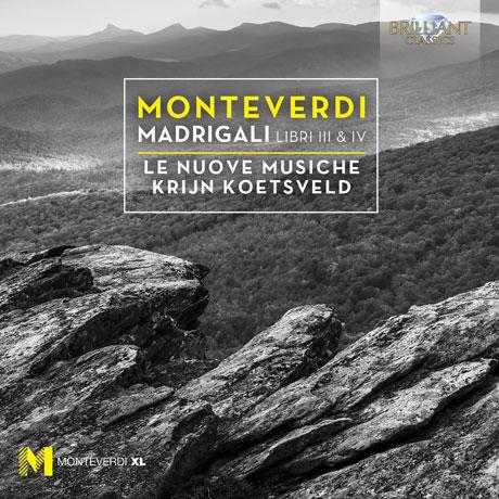 MADRIGALS LIBRI 3 & 4/ LE NUOVE MUSICHE, KRIJN KOETSVELD [몬테베르디: 마드리갈 곡집 3,4집]