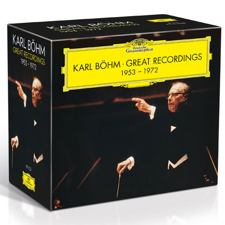 GREAT RECORDINGS 1953-1972 [칼 뵘의 위대한 녹음 2집]