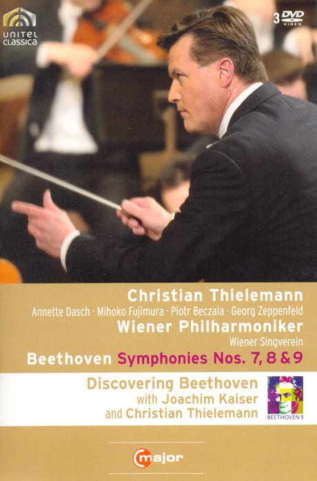 SYMPHONIES NOS.7,8 & 9/ CHRISTIAN THIELEMANN [틸레만과 빈 필하모닉의 베토벤 교향곡 전집 VOL.3]