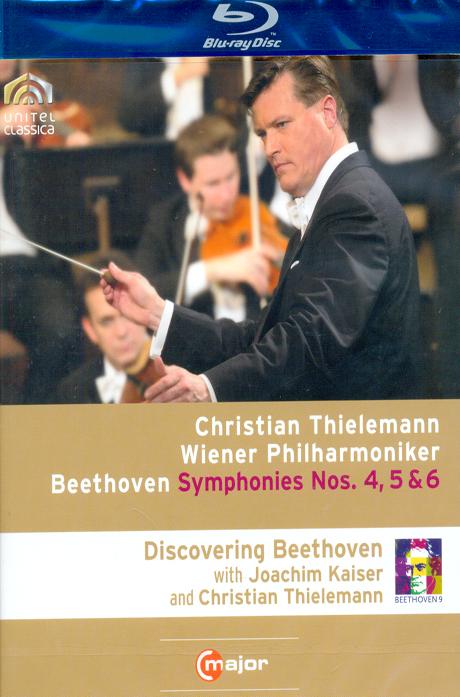 SYMPHONIES NOS.4,5 & 6/ CHRISTIAN THIELEMANN [틸레만과 빈 필하모닉의 베토벤 교향곡 전집 VOL.2]