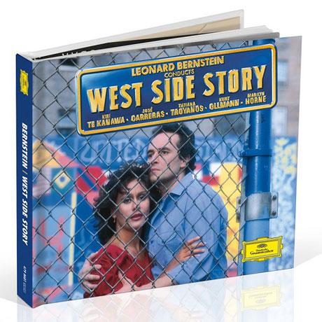 WEST SIDE STORY/ LEONARD BERNSTEIN [CD+DVD] [번스타인: 웨스트 사이드 스토리] [양장 한정반]