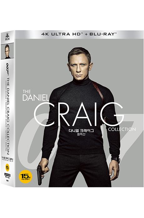 다니엘 크레이그 컬렉션 4K UHD+BD [슬립케이스 한정판] [THE DANIEL CRAIG COLLECTION]