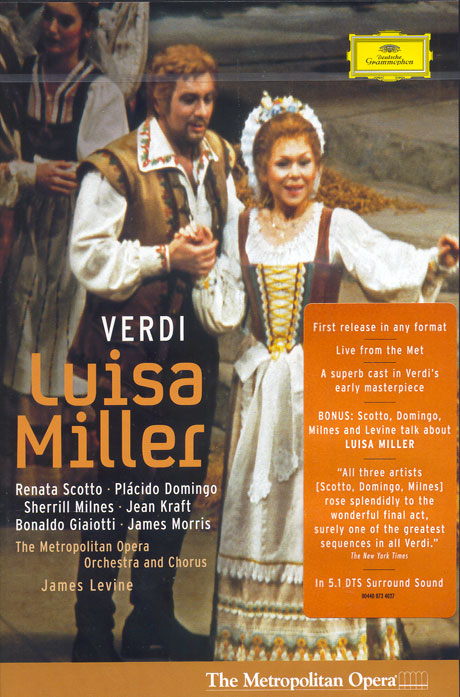 LUISA MILLER/ RENATA SCOTTO, PLACIDO DOMINGO, JAMES LEVINE