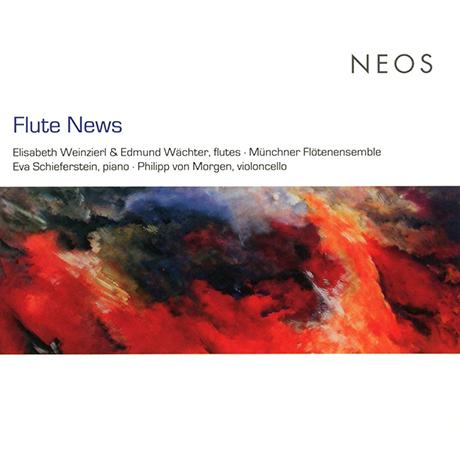 FLUTE NEWS/ ELISABETH WEINZIER, EDMUND WACHTER [플루트 뉴스: 현대 플루트 2중주집 - 바인지엘, 뵈히터]